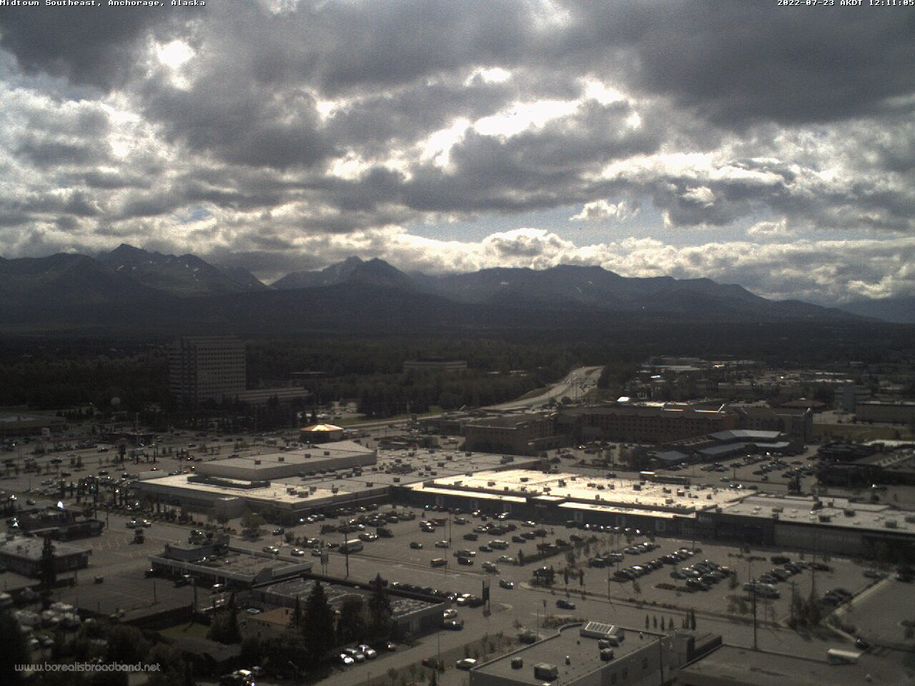 Webcam: Anchorage, Alaska